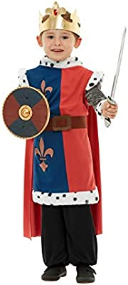 Fancy Ole - Accesorios para Disfraz de Caballero Medieval, Azul ...