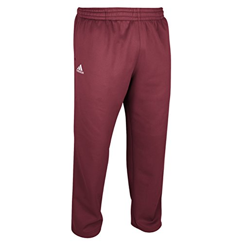 Pantaloni Adidas Mens Climawarm Team Techfleece Pantaloni Bordeaux
