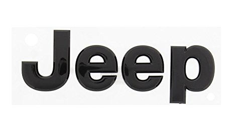 3D Sticker j e e p letter Glossy black Front or Rear Emblem Nameplate Decal Boot Words for jeep Head Hood Logo Sticker Wrangler Grand Cherokee Liberty Compass