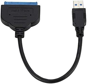 Cable Adaptador USB 3.0 a 2.5in SATA III de 22 Pines con UASP ...