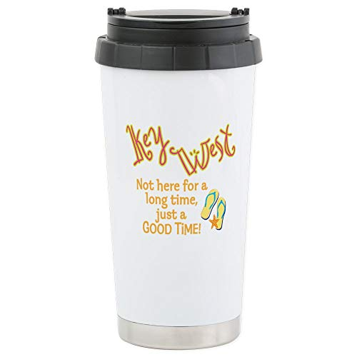 CafePress Key West - Stainless Steel Travel Mug, Insulated 16 oz. Coffee Tumbler