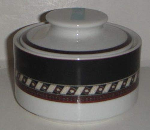 Christopher Stuart Ebony Court Sugar Bowl W/Lid