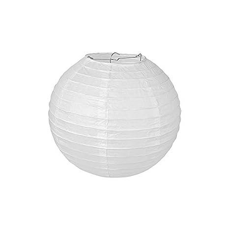 Pajoma 71694 - Lámpara de techo, papel, color blanco, 20 x ...