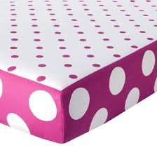 Used, Circo Duo Modern Print Fitted Crib Sheet Pink and White for sale  Delivered anywhere in USA