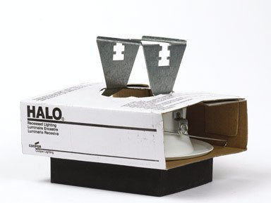 Halo Recessed 5000P-6PK Trim Splay White Trim and White Splay, 5''