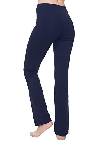 Yoga Pants for Women Best Black Leggings Straight Leg 28