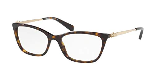 Coach Women's HC6107 Eyeglasses Dark Tortoise 54mm ()