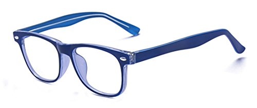 Outray Kids Teens Computer Blue Light Blocking Glasses for Boys and Gilrs Anti Eyestrain 2185c2 ()