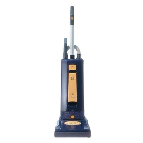 SEBO 9577AM Automatic X4 Upright Vacuum, Blue/Yellow - Corded