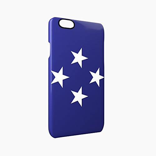Flag of Federated States of Micronesia Glossy Hard Snap-On Protective iPhone 6 / 6S Case Cover
