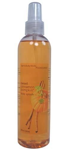 Bath & Body Works Pleasures Sweet Cinnamon Pumpkin Body Splash 8 - Sweet Pumpkin Cinnamon Splash Body