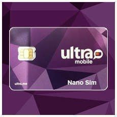 Ultra Mobile Nano SIM card for Samsung Galaxy S7 Smartphone