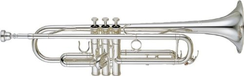 Yamaha YTR-4335GS Intermediate Bb Trumpet, Silver-Plated