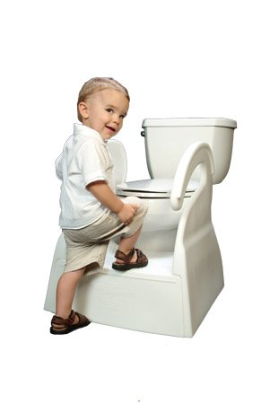 The Potty Stool for Toddler Toilet Training Step Stool  sc 1 st  Amazon.com : potty chair step stool - islam-shia.org