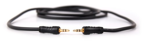 DURAGADGET Jack to Jack 3.5mm Male Auxiliary Cable with Gold Plated for the GGMM D6 by DURAGADGET