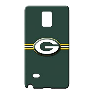samsung note 4 Classic shell PC Awesome Look mobile phone carrying shells green bay packers nfl football