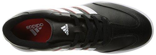 adidas adidasJr Adicross V Ftwwht/Midg - K - Jr Adicross V Piewwht/Medianog Niños, Unisex Negro