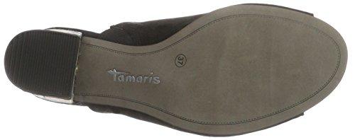Open black 001 Black Tamaris 27218 Women's Sandals TwqnBHZEB
