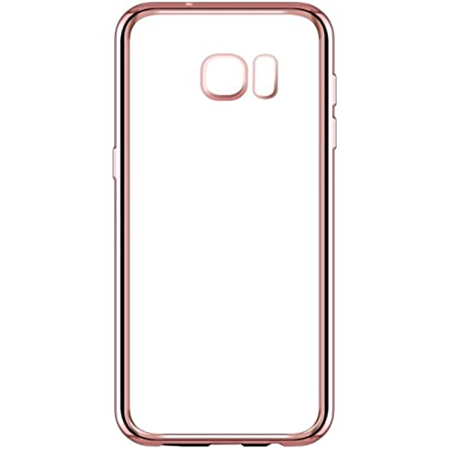 Yiwanda Slim Fit Anti-slip Anti-Scratch Soft TPU Clear Back Cover Cell Phone Case for Samsung Galaxy S7 (Rose Sales