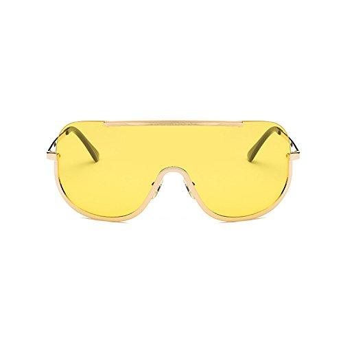 De Marco De Los Europa Gran Shoot One Sol Sol Piece Gafas Yellow Transparent Street Unidos Film Ocean Y Swag Estados CTao Mujer Gafas Trend 5nqzUtx8w