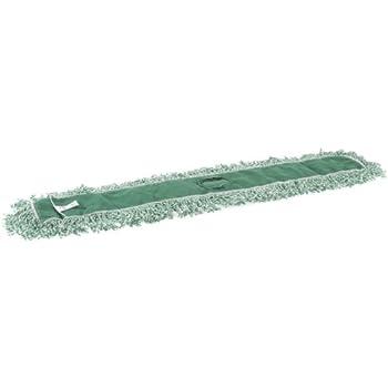 Rubbermaid Commercial FGJ85700GR00 Microfiber Blend Looped-End Dust Mop, 48-inch, Green