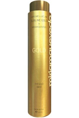 Miriam Quevedo (miriamquevedo) Mediterraneum SUBLIME GOLD ''The Gold Mask'' Hair Conditioning with Micronized 24kt Gold,Caviar,Imperial Orchid,Bio Argan Oil by Miriam Quevedo , 8.5 fl oz Made in Spain. by miriamquevedo SUBLIME GOLD ''The Gold Mask''