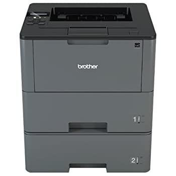 Brother HLL6200DWT Wireless Monochrome Printer with Dual Paper Tray, Amazon Dash Replenishment Enabled