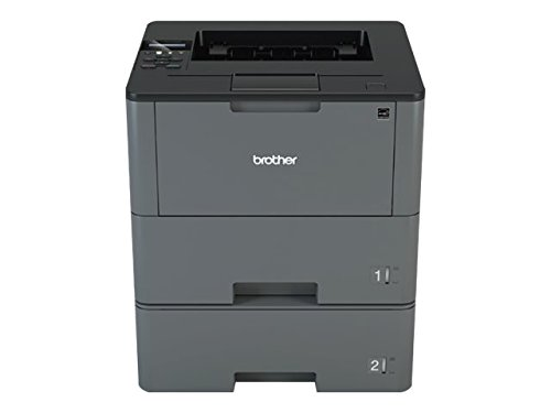 Brother HLL6200DWT Wireless Monochrome Printer with Dual Paper Tray, Amazon Dash Replenishment Enabled by Brother