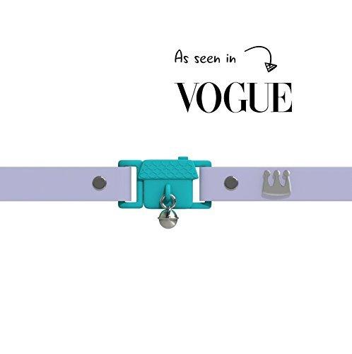 Gagnant du Prix, Mauve, Kittyrama Collier pour Chat. Vu en Vogue