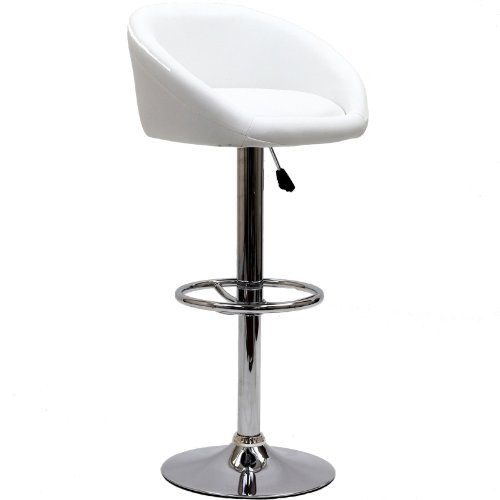 Modway Marshmallow Bar Stool in White