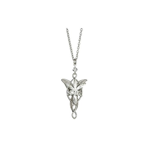 Silver Tone Inspired Arwen Evenstar's Necklace -