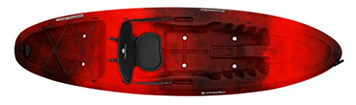 Perception-Kayak-Conduit-Red-Tiger-Camo-Kayak