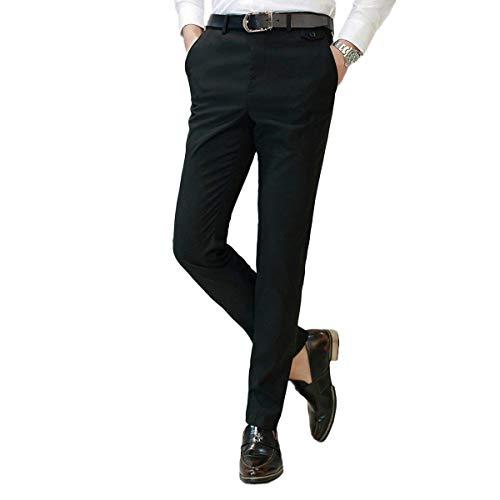 Pantalones Pantalon Bureau Noir Homme Coupe Travail Costume Slim Et Trabajo Décontracté Léger De Classique Chino Pour C7xw70Uqr