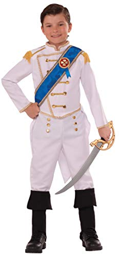 Forum Novelties Kids Happily Ever After Prince Costume, White, ()