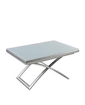 Extensible Avec Table Relevable Et Square Intégrées 2 Allonges Basse wmNn08