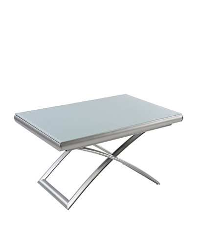 Square Mesa Baja elevable y Extensible con 2 allonges internos ...