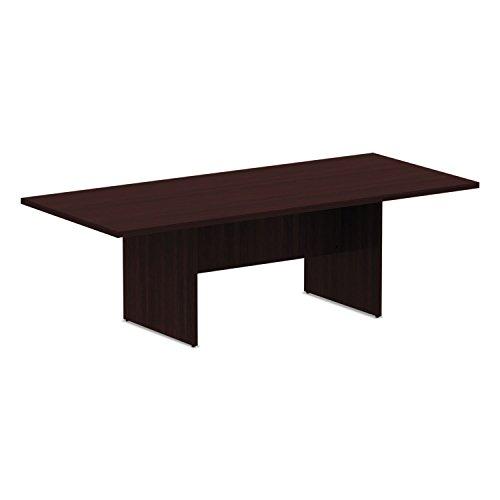 ALERA - Valencia Series Conference Table, Rectangle, 94 1/2 X 41 3/8 X 29 1/2, Mahogany ( ALEVA719642MY ) ( VA719642MY ) - Edge Rectangle Top Conference Table