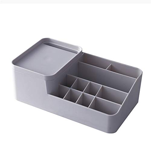 (Perfect Space management equipment Cosmetic Space management equipment - PS material, light material, dustproof and moisture-proof, multi-grid storage area, simple cosmetic Space management equipment)