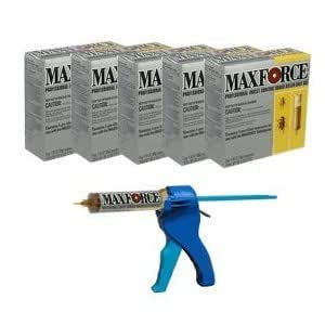 Maxforce Pro Roach Gel Reservoir Kit + Bait Gun BA1108