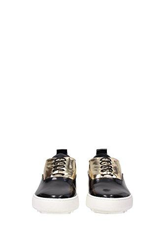 ABLDML04 Philippe Model Sneakers Mujer Piel Negro Negro