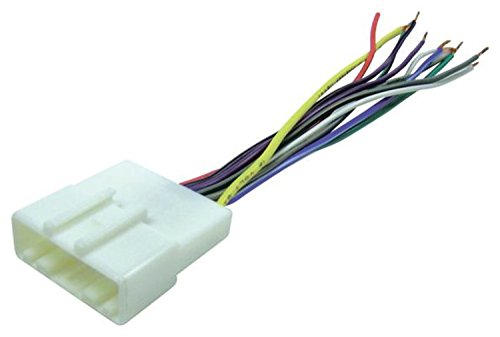 Nissan Sentra Radio Wiring (Scosche NN04B Wire Harness to Connect An Aftermarket Stereo Receiver for Select 2007-Up Nissan Sentra)