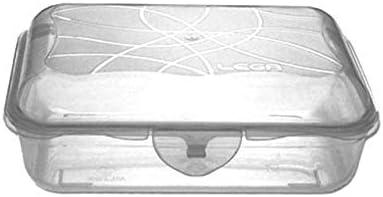 LEGA CONTENITORE RETTANGOLARE CLICK BOX CLICKCLACK L 3 28 X 15  CM
