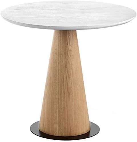 Escritorio de la computadora móvil Mesa de sofá redonda de madera ...