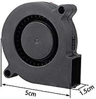 Ventilador 5015 para impresora 3D, 2 unidades, 24 V CC, 50 x 50 x ...