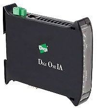 Din 1 Rail - DIGI 70001862 - DIGI ONE IA 1 PORT RS-232/422/485 DIN RAIL MOUNTED SERIAL TO ETH