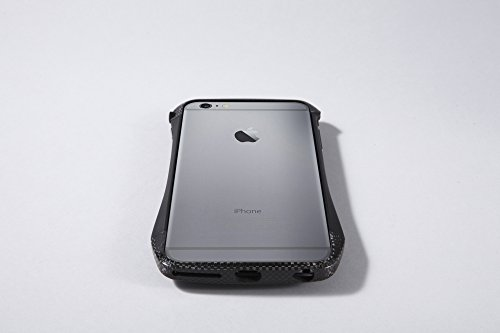 Deff Cleave Hybrid Super Strong Bumper for iPhone 6 Plus (Carbon Black)