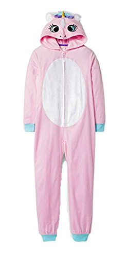 C & J Girls' Unicorn Hooded Blanket Sleeper - Cat & Jack Pink XS, S. M L, XL (Small US) from Cat & Jack.