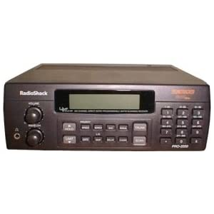 Radio Shack Pro 2050 Trunk Tracker 300 Channel VHF/UHF/Air/800MHz Scanner