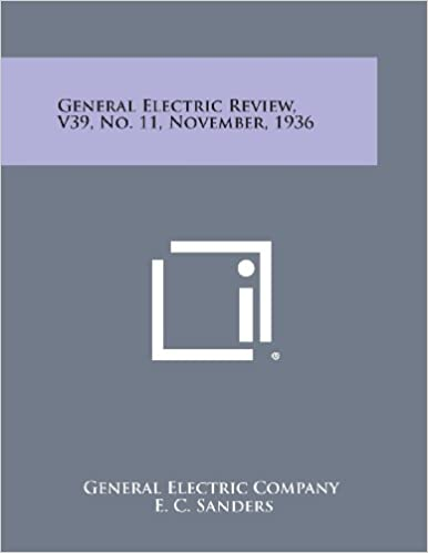 General Electric Review, V39, No. 11, November, 1936