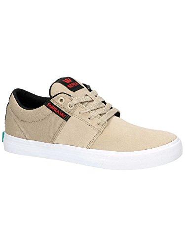 Supra Stacks Vulc Ii Sneaker Tan - Bianco